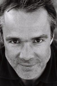 Portrait Photo Hannes Jaenicke black and white